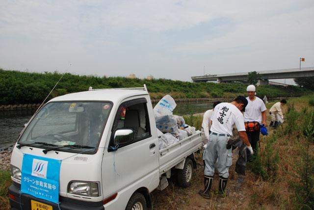 プロジェクト保津川第8回定例清掃会