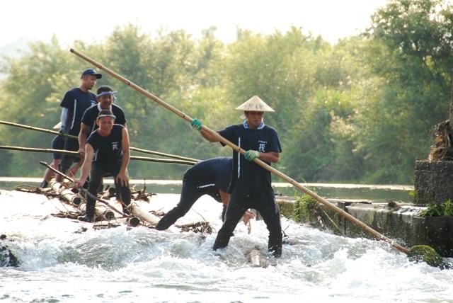 保津川筏復活プロジェクト2008